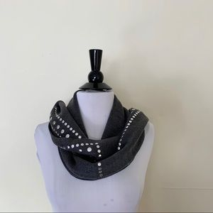 MICHAEL KORS Embellished Stud Wrap Scarf